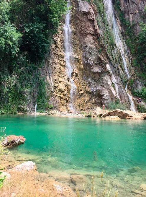 Водопад Учансу Селалиси в 170км от Антальи