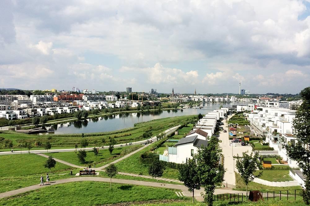 Элитный район Дортмунда, где живут некоторые футболисты из команды «Боруссия Дортмунд»