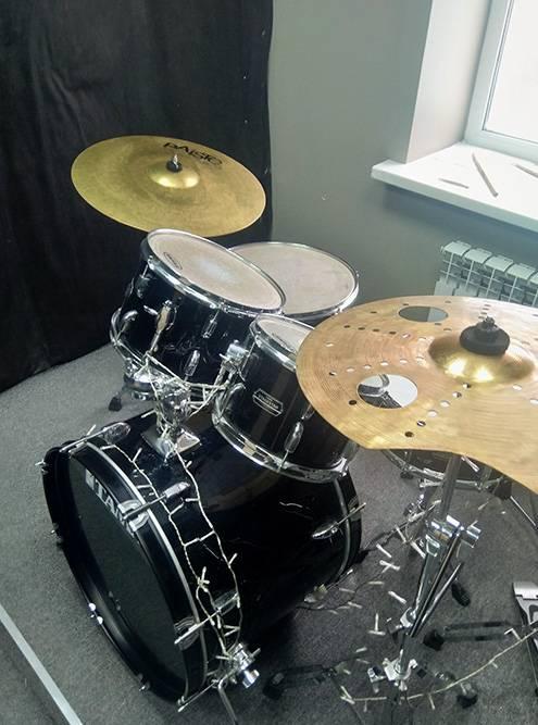 Барабан — мой рабочий инструмент