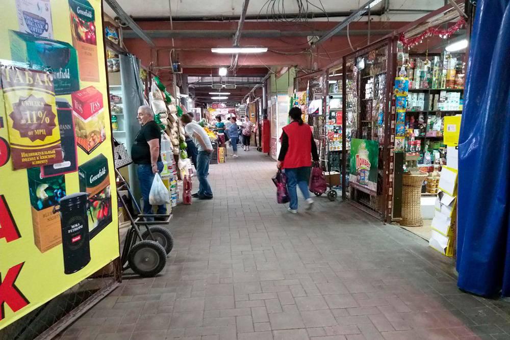 Универсальный рынок на улице Рахова