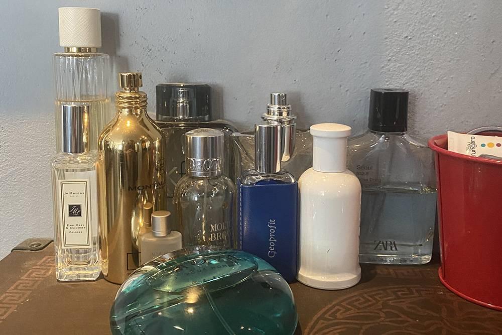 Теперь в моей коллекции 11разных ароматов