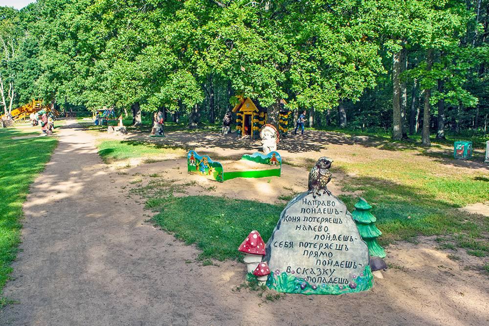 Детские площадки в Дубках тематические, как из сказок. Источник: Sergei Afanasev / Shutterstock