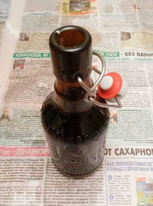 Это бутылка с бугельной пробкой. Для&nbsp;таких укупорочная машинка не нужна, но сэкономить вряд&nbsp;ли получится: бутылка с бугельной пробкой стоит дороже, чем с кроненпробкой, — 60<span class=ruble>Р</span>