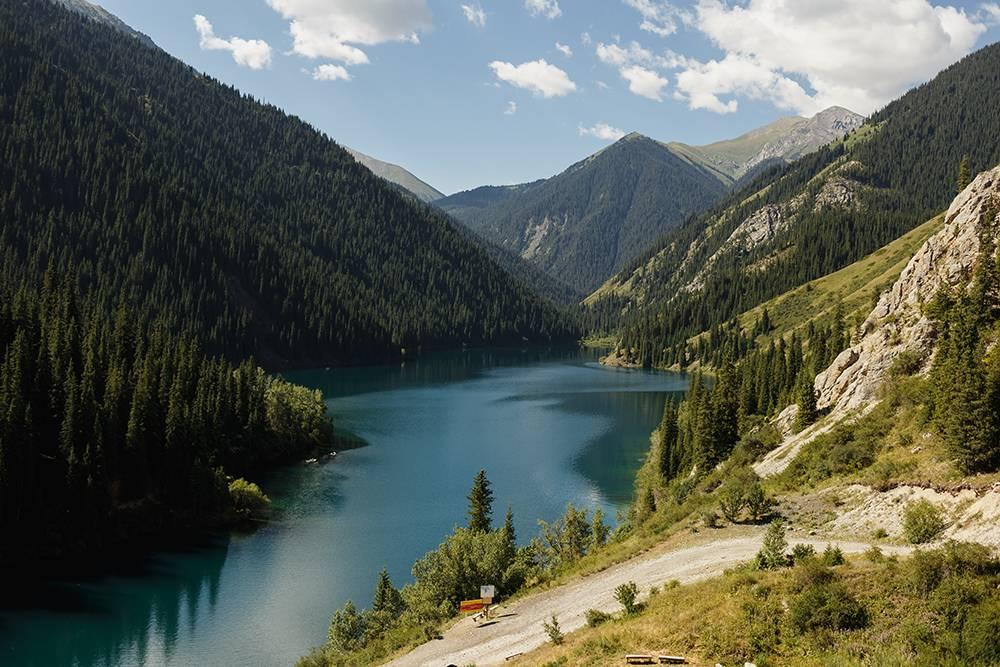 Нижнее Кольсайское озеро