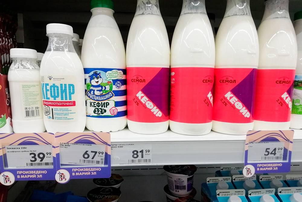 У местных продуктов в супермаркетах специальный ценник с надписью «Произведено в МарийЭл». Так местные власти поддерживают местных производителей
