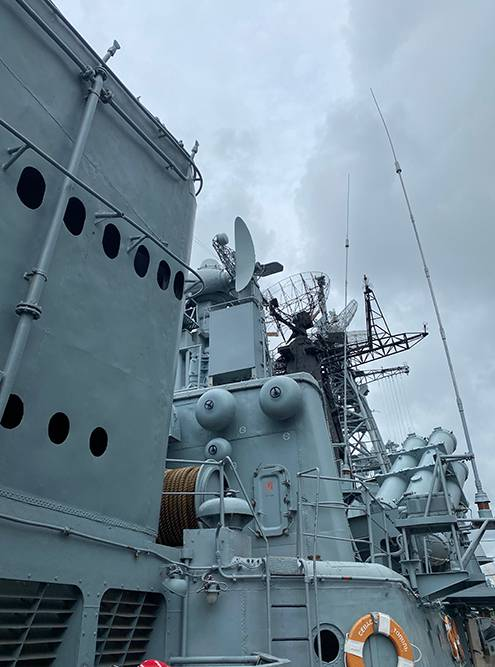 Оборудование на корабле
