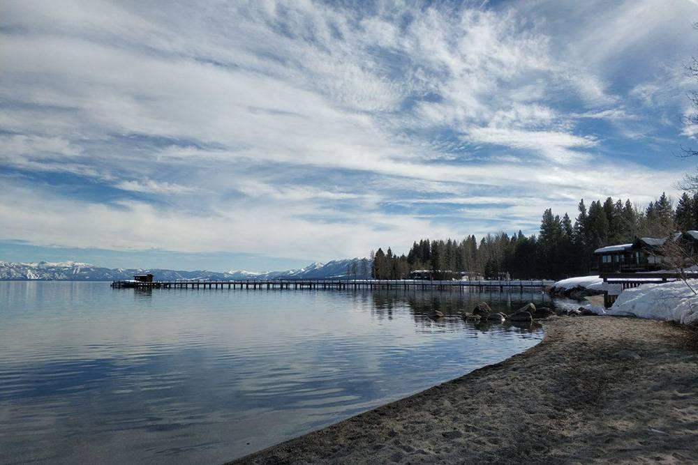 Наша первая поездка на озеро Тахо в марте 2019года