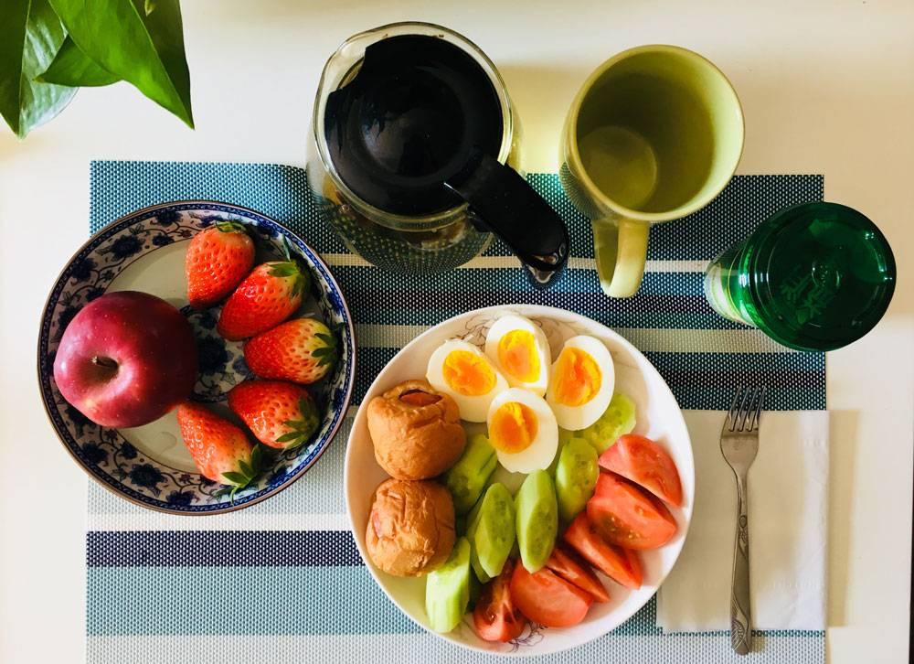 Так выглядит завтрак, который я предлагаю гостям