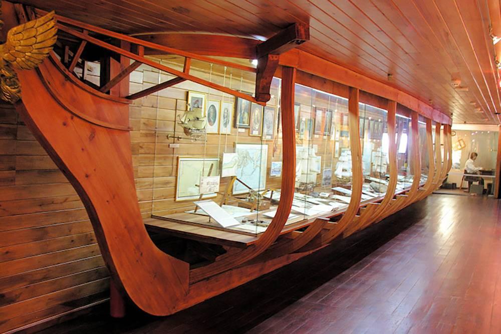 Эта экспозиция рассказывает об истории российских географических открытий. Источник:wikipedia.org