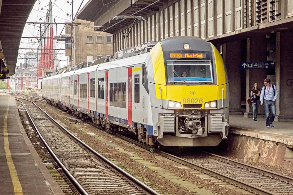 Бельгийские поезда похожи на российские «Ласточки». Фото: Rob Dammers/Flickr