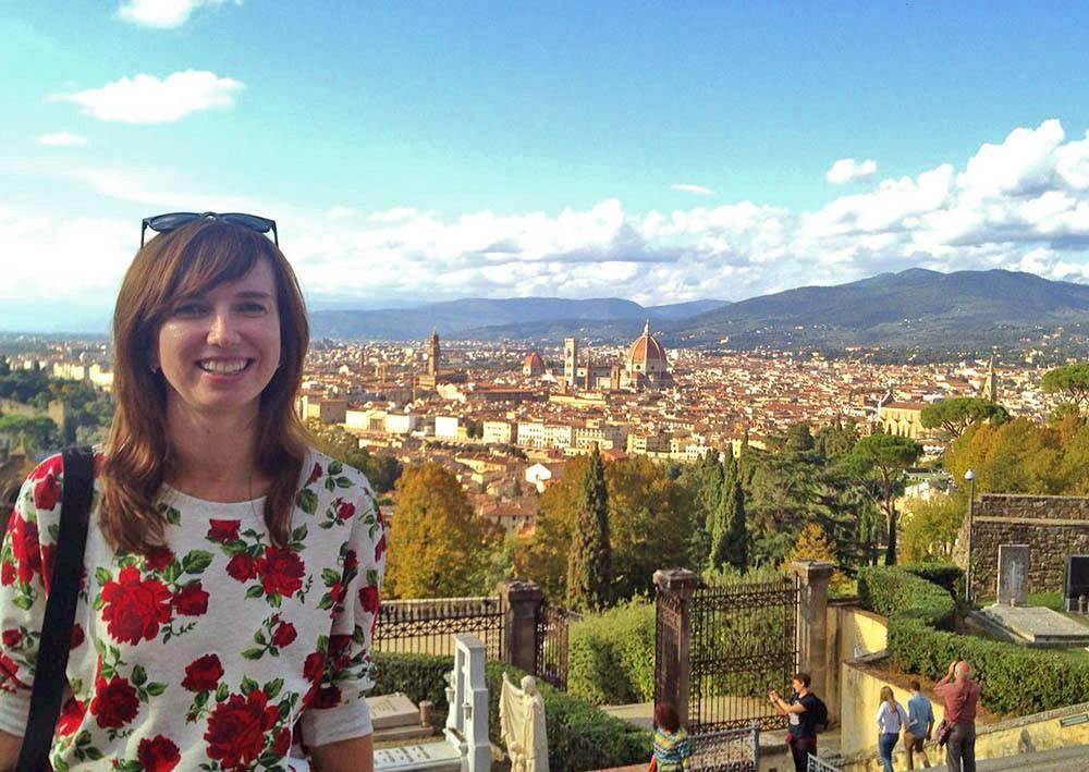Мое любимое место во Флоренции — Пьяццале Микеланджело