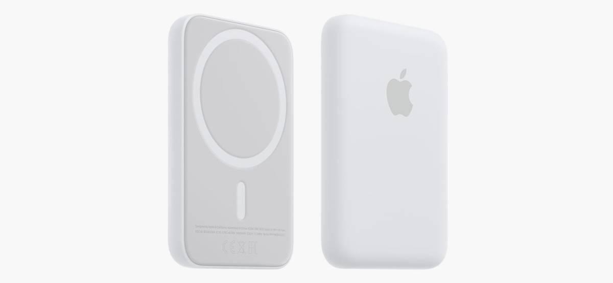 «Эпл» выпустила беспроводной пауэрбанк, который магнитится к Айфонам с MagSafe