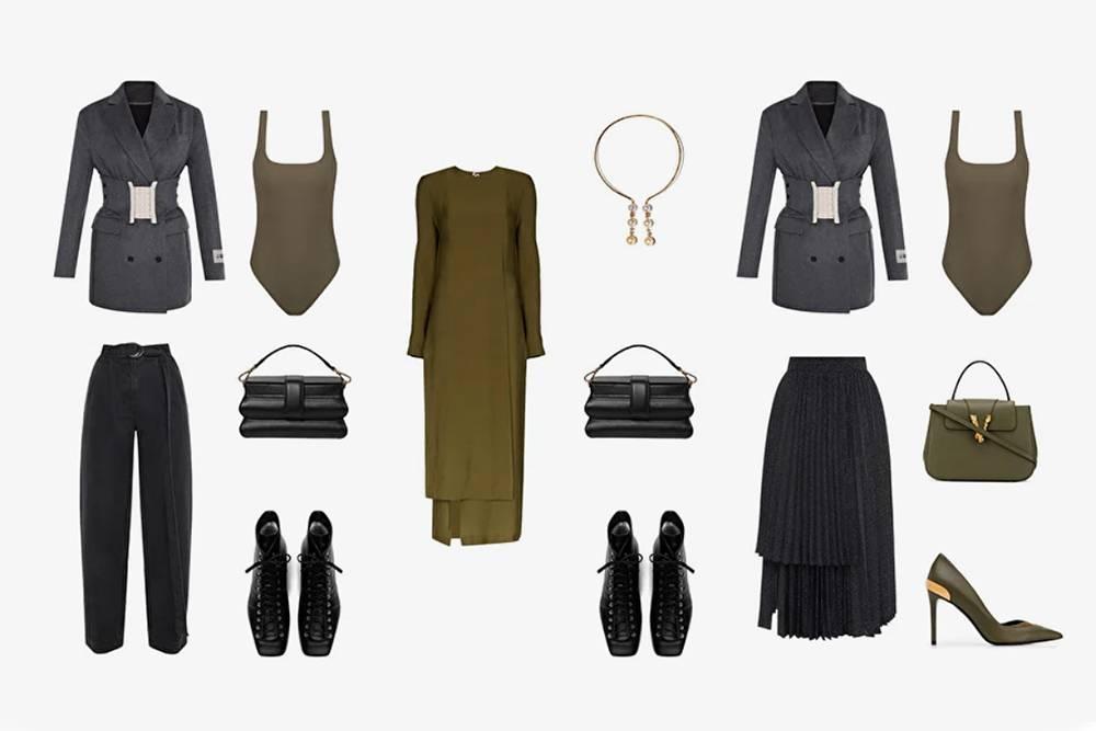 Стилисты Get Outfit сначала присылают коллаж с образами, а потом предлагают заказать понравившиеся дляпримерки