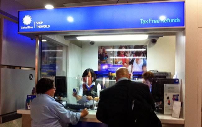 Офис «Глобал-блю» в аэропорту Барселоны. Фото: barcelona-city-travel.com