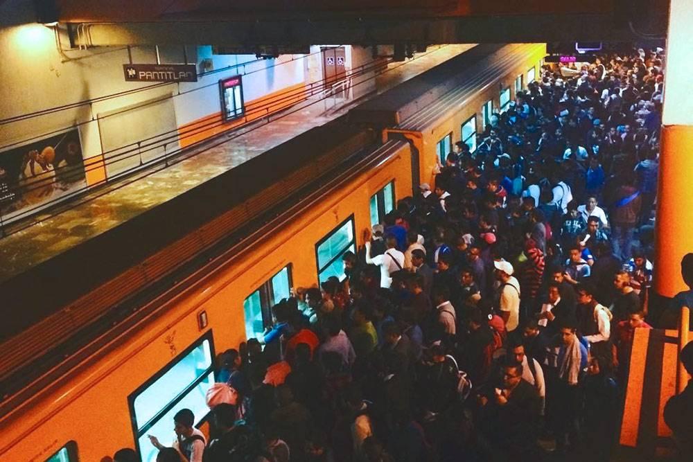 Станция метро «Пантитлан» — одна из самых перегруженных и небезопасных в Мехико