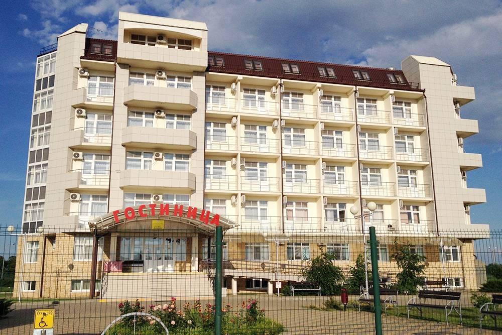 Гостиница «Олимп» в Выселках
