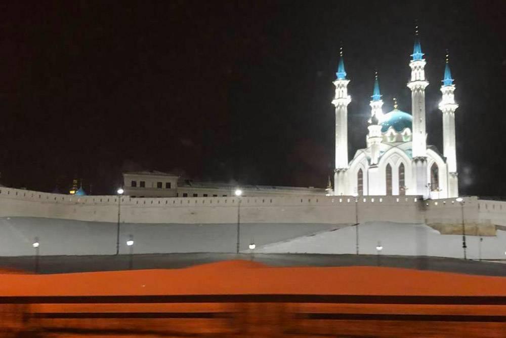Вид из такси по дороге к мастеру
