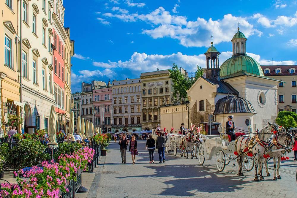 В 2000 году Краков выбрали культурной столицей Европы. Источник: Roman_Polyanyk / Pixabay