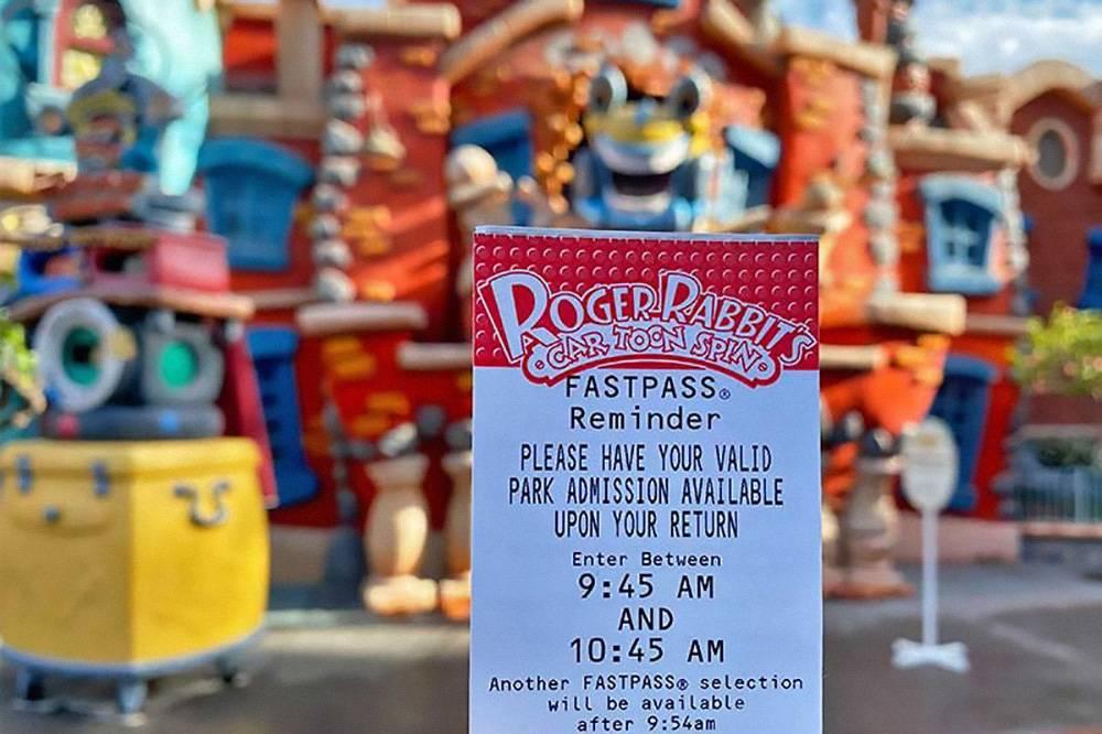 Так выглядит билет Fast Pass. Источник: Get Away Today