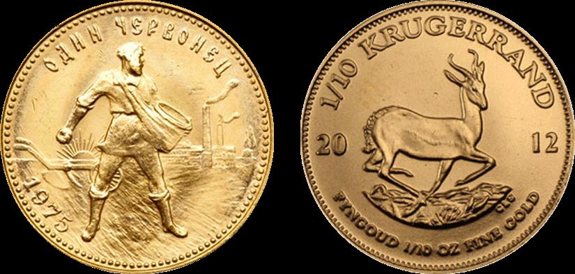 Как заработать на монетах из драгметаллов