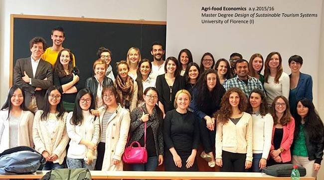 Наш курс с любимым профессором Андреа Марескотти