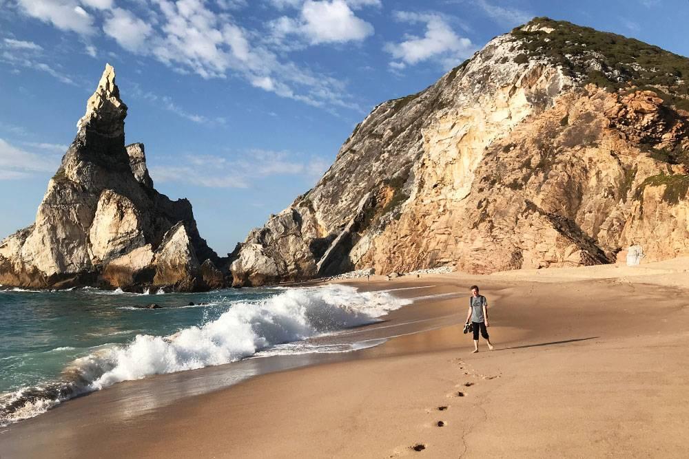 Невероятные пейзажи пляжа Урса