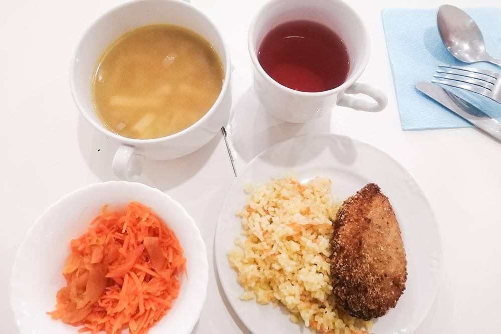 Школьный обед