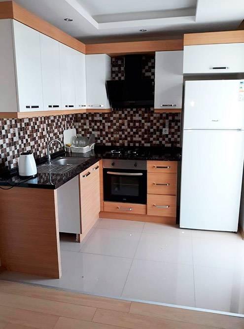 Кухня в моей квартире совмещена с гостиной