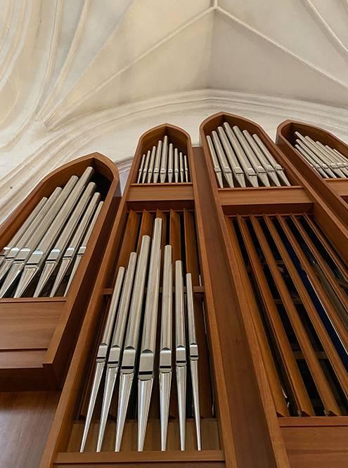 Размеры органа в кафедральном соборе Калининграда впечатляют