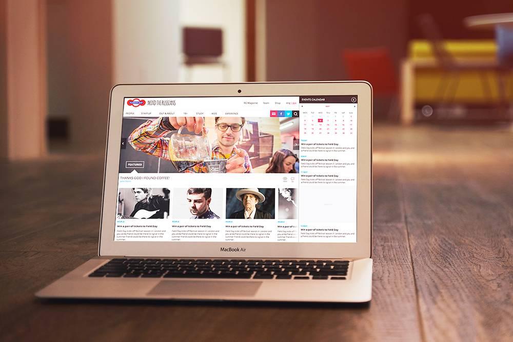 Макет-презентация нового дизайна сайта