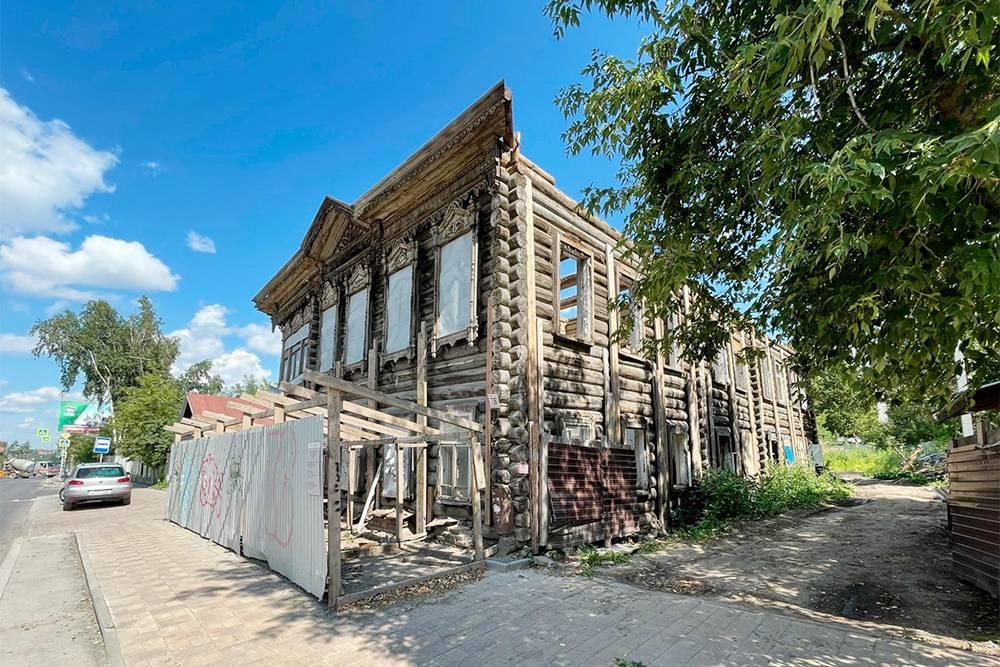 Этот дом наКрасноармейской,78 мы тоже будем восстанавливать