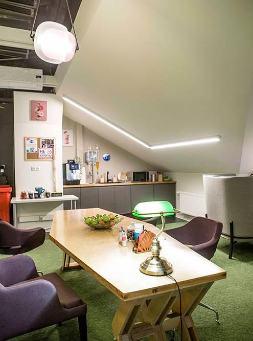 В GrowUp есть тихие и громкие зоны для работы. Можно выбрать, где будет комфортнее находиться