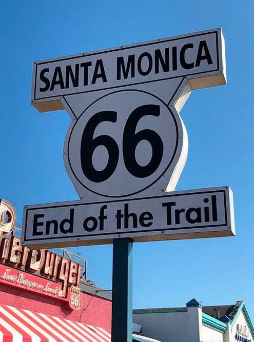 Шоссе 66 — цепь главных улиц маленьких городов и деревенских поселков, соединившая Чикаго с Лос-Анджелесом