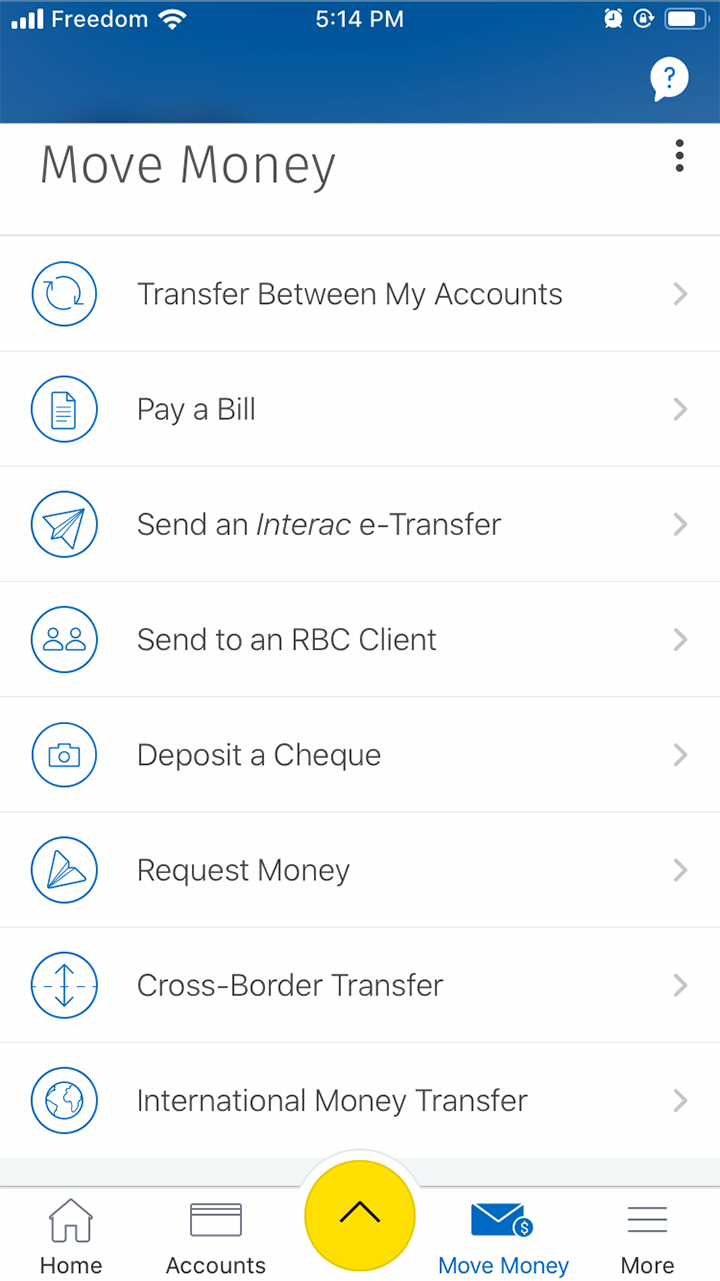 В мобильном банке можно перевести деньги и оплатить счета