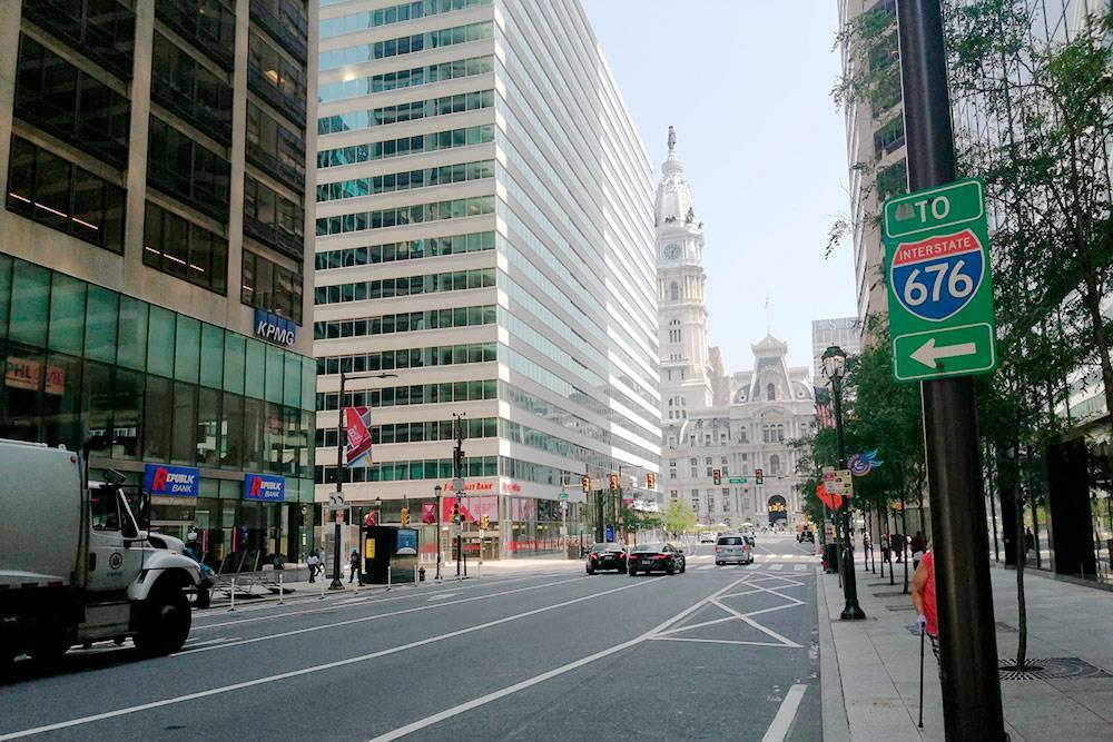 Так выглядит деловой центр Филадельфии — даунтаун