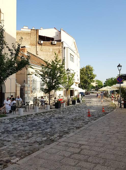 Улица Косанчичев Венац — фотогеничная локация