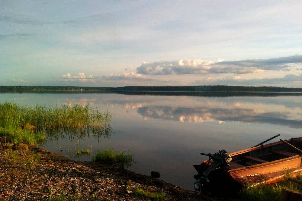 Я считаю, что дача — это место длярелакса. Можно просто выйти на берег озера и любоваться красотой природы