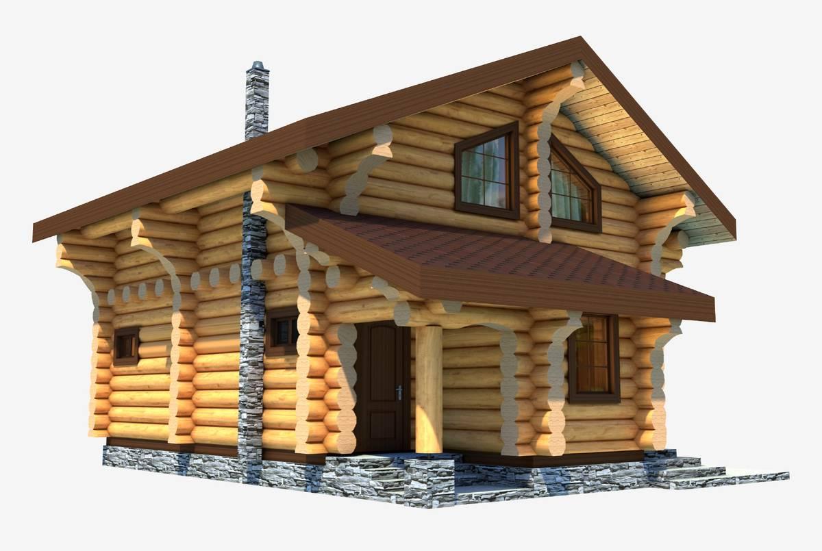 Мы заказали проект дома у фрилансера. Вот его эскиз. Он сразу помог мне представить, каким будет дом