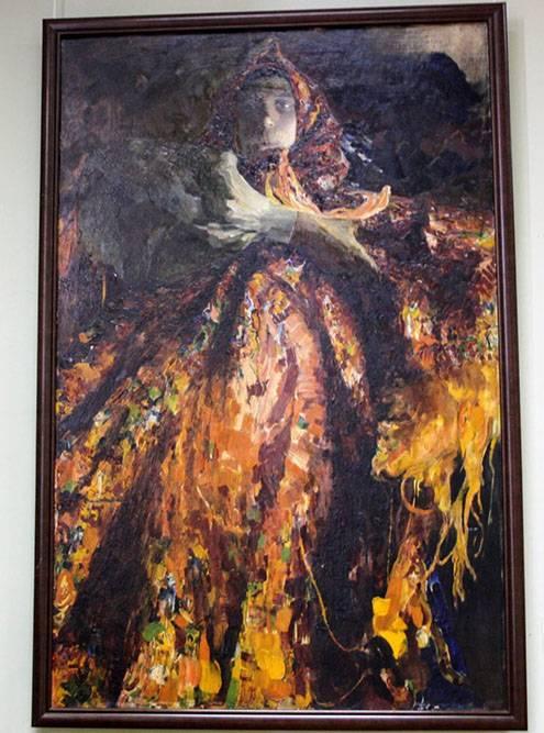 Большая часть галереи посвящена творчеству художников 19 и начала 20веков. Это «Баба-крестьянка» Филиппа Малявина. Источник:«Тревеласк»