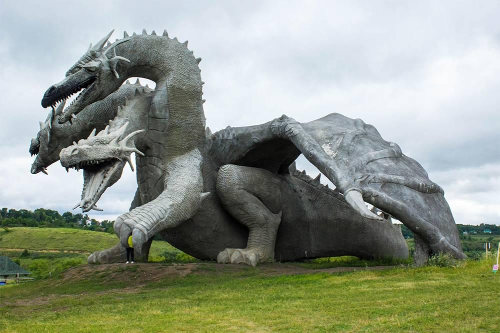 Змей Горыныч считается символом парка
