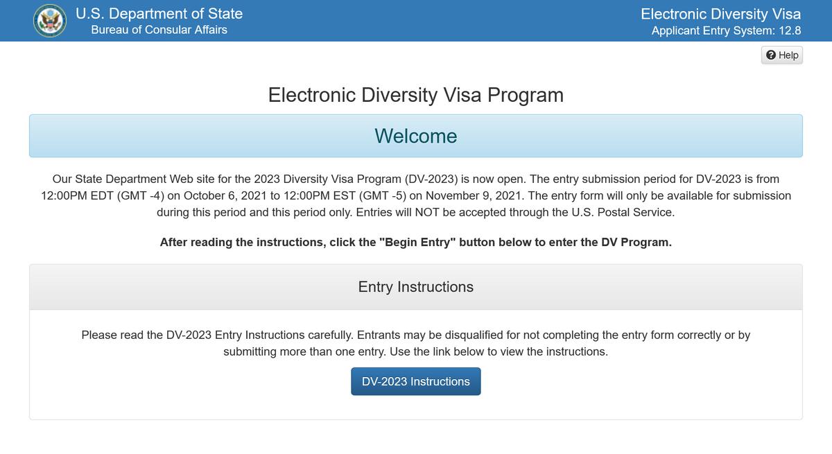 Это единственный официальный сайт, на котором можно подать заявку на грин-карту: dvprogram.state.gov