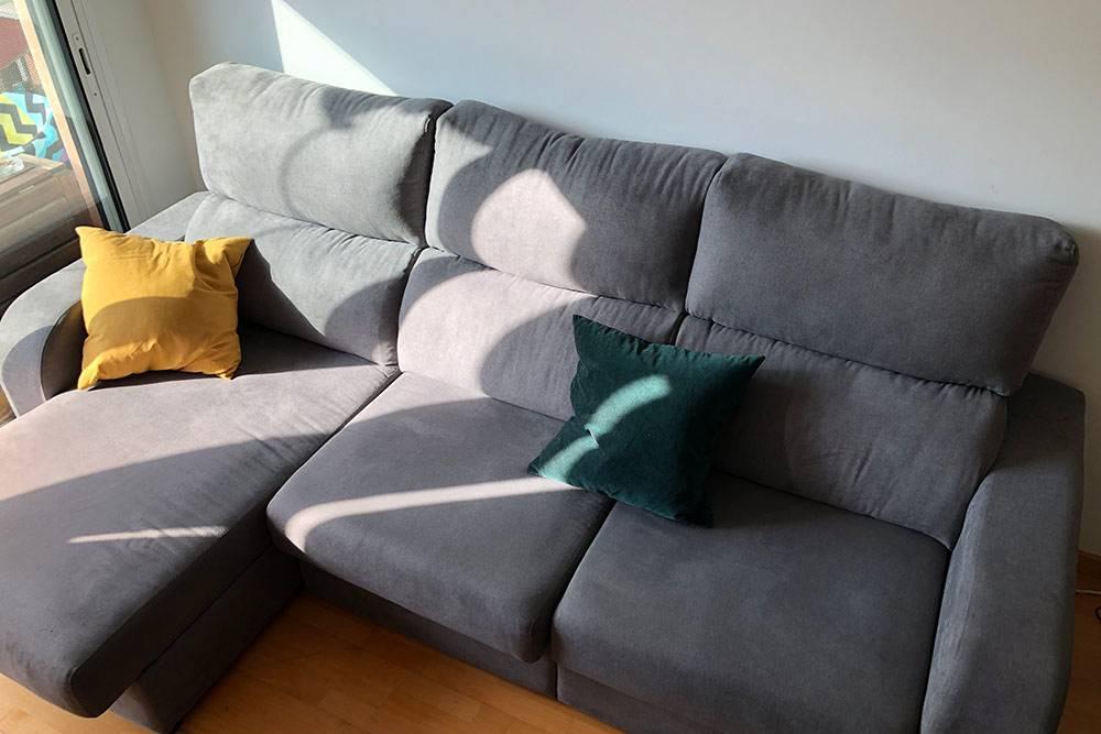 Наш диван из «Конфорамы»