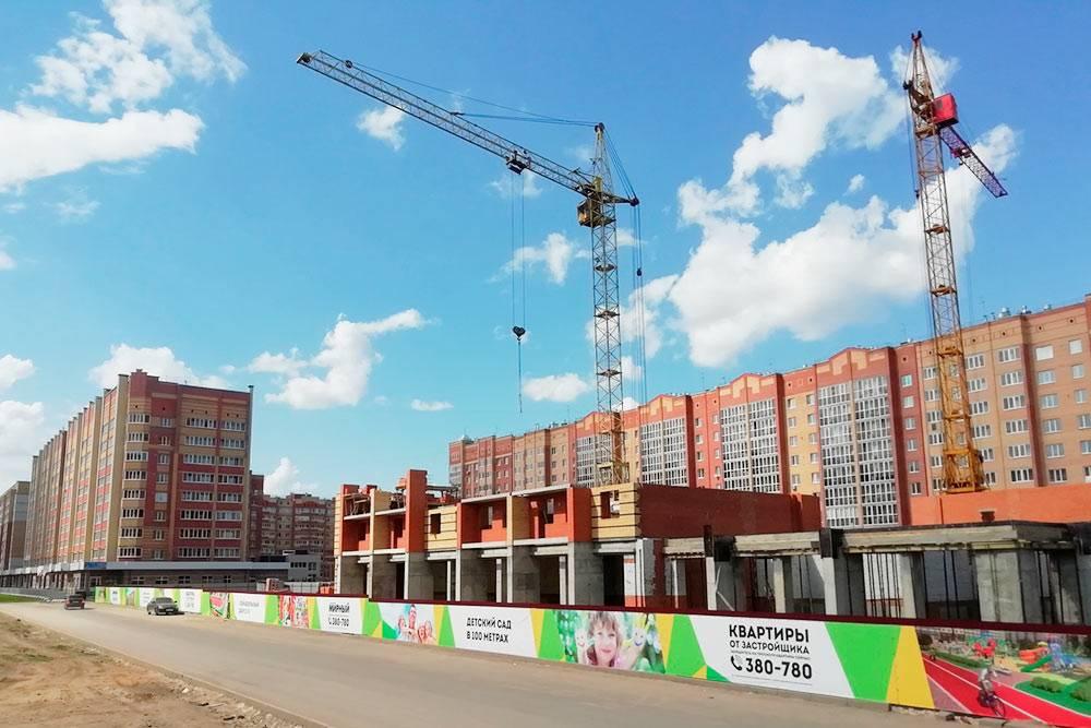 В Йошкар-Оле одновременно строят 14 микрорайонов