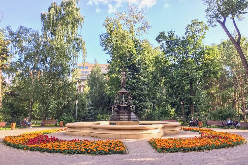 Фонтан в центре Лядского садика заложил еще сам генерал Лецкой