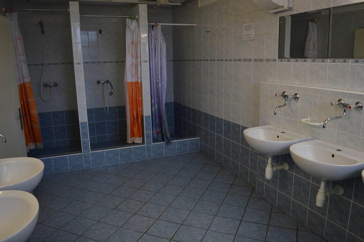 Душевые и туалеты очень чистые