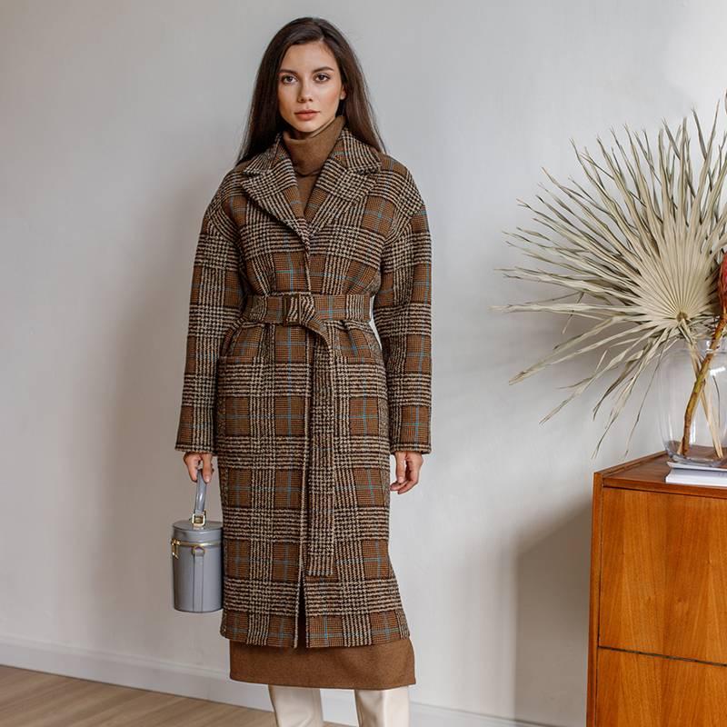 Купила выкройку вот такого пальто