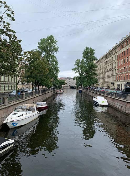 Канал Грибоедова — мой любимый канал в Петербурге
