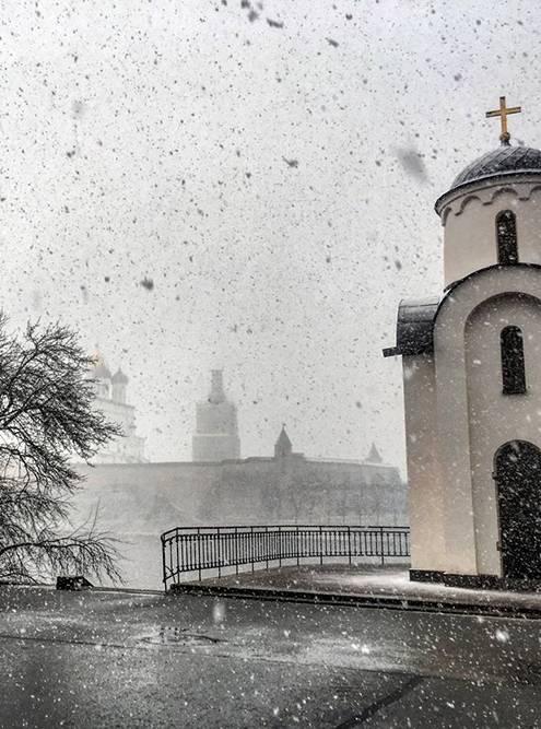 Ольгинскую часовню возвели в память о русской княгине Ольге