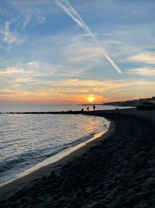 Пляж Остия