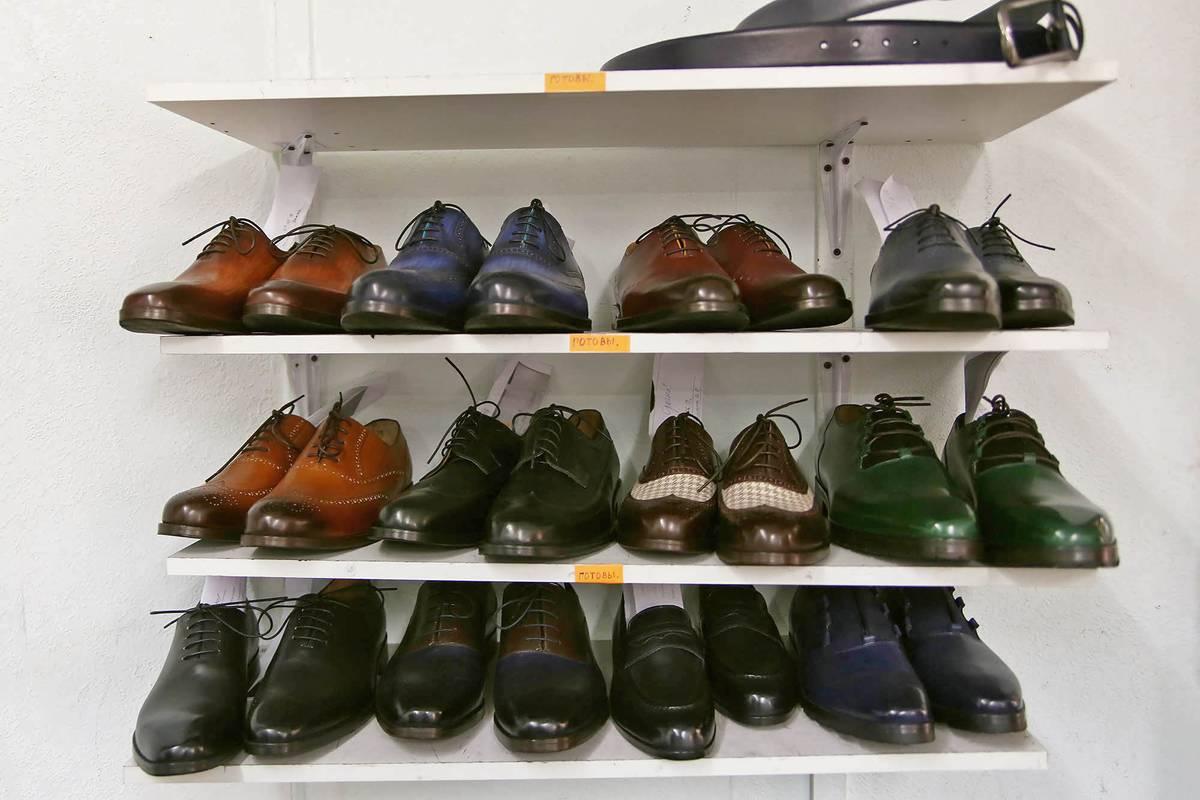 Так выглядит обувь сразу после производства